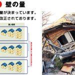 地震で倒壊した家の原因